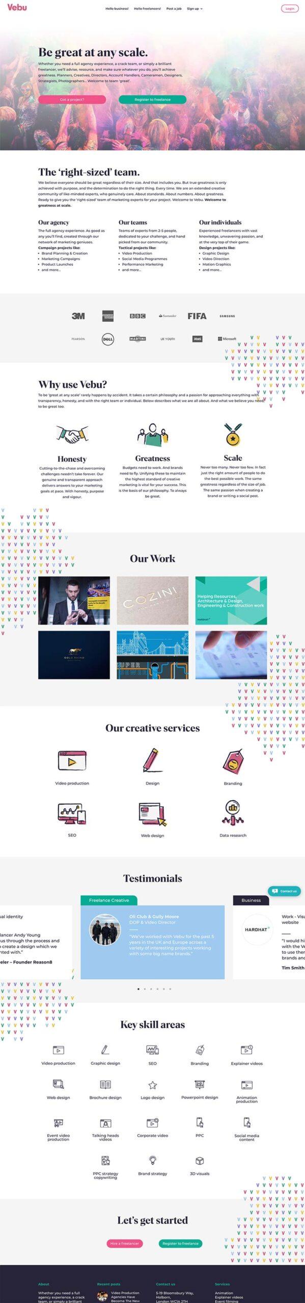 vebu.co.uk web development